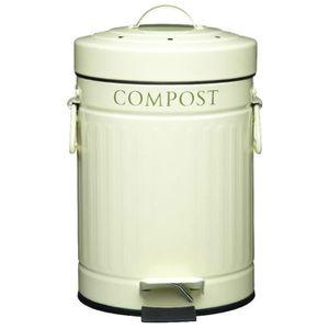Cuisine artisanale p dale de bac compost avec filtre - Poubelle a compost de cuisine ...