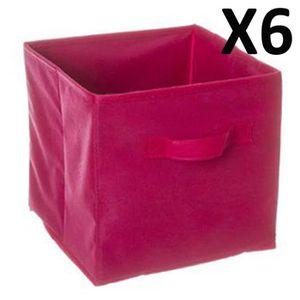 panier de rangement rose achat vente panier de. Black Bedroom Furniture Sets. Home Design Ideas