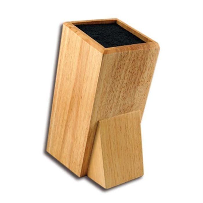 Bloc couteaux design en bois jusqu 39 a 8 couteaux achat vente repose ustensile bloc couteaux - Bloc en bois pour couteau ...