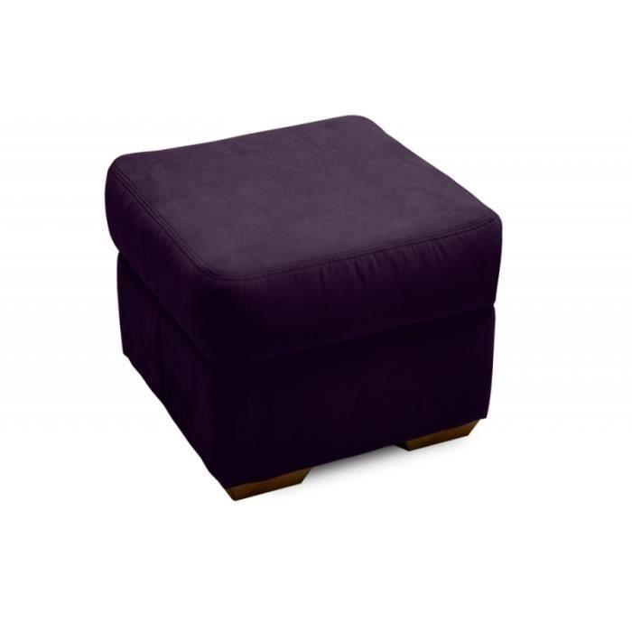 pouf parker prune achat vente pouf poire cdiscount. Black Bedroom Furniture Sets. Home Design Ideas