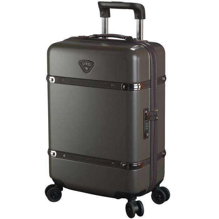 valise rigide cabine jump cassis ref jum8300 kaki kaki vert achat vente valise bagage. Black Bedroom Furniture Sets. Home Design Ideas