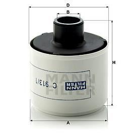 mann filter c 913 1 filtre air compresseur air d 39 admission achat vente compresseur auto. Black Bedroom Furniture Sets. Home Design Ideas