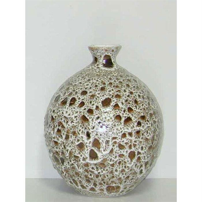 vase cosmos ceramique hauteur 22 cm achat vente vase. Black Bedroom Furniture Sets. Home Design Ideas