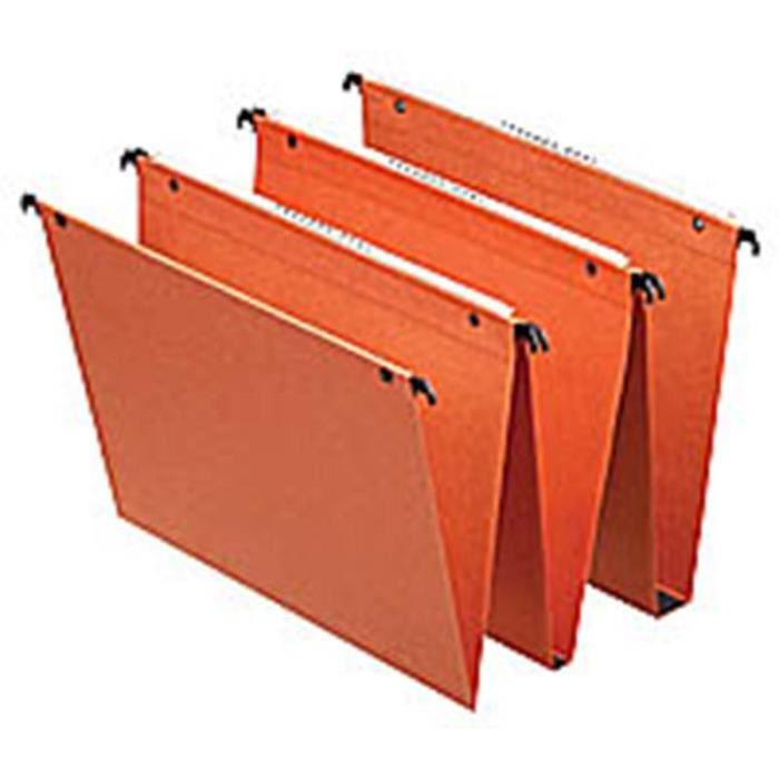 25 dossiers suspendus dual orange pour tiroir f achat vente dossier suspendu 25 dossiers. Black Bedroom Furniture Sets. Home Design Ideas