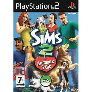 JEU PS2 LES SIMS 2 ANIMAUX ET CIE / PS2