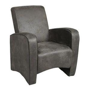 fauteuil club achat vente fauteuil club pas cher cdiscount. Black Bedroom Furniture Sets. Home Design Ideas