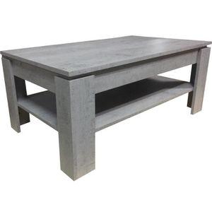 Table basse grise meilleures ventes boutique pour les for Table basse chene clair pas cher