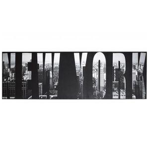 tableau new york noir et blanc achat vente tableau new york noir et blanc pas cher soldes. Black Bedroom Furniture Sets. Home Design Ideas