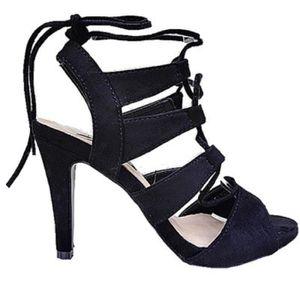 SANDALE - NU-PIEDS Sandales talon haut aiguille femme chaussure bout