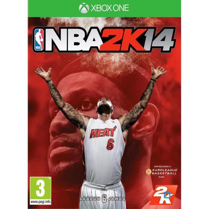 JEUX XBOX ONE NBA 2K14 Jeu Xbox One