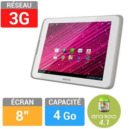 informatique tablettes tactiles ebooks archos  xenon go g f arc