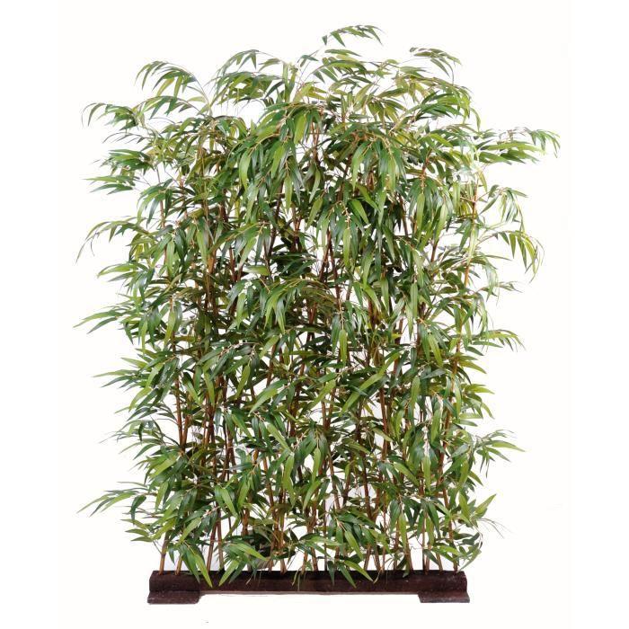 Bambou artificiel new haie 150cm achat vente fleur for Haie bambou artificielle