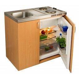 Cuisinette compl te en bois avec r frig rateur achat for Cuisine complete bois