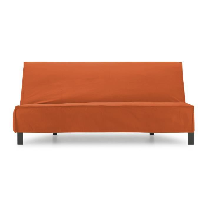 Canap lit focus orange achat vente canap sofa for Canape orange