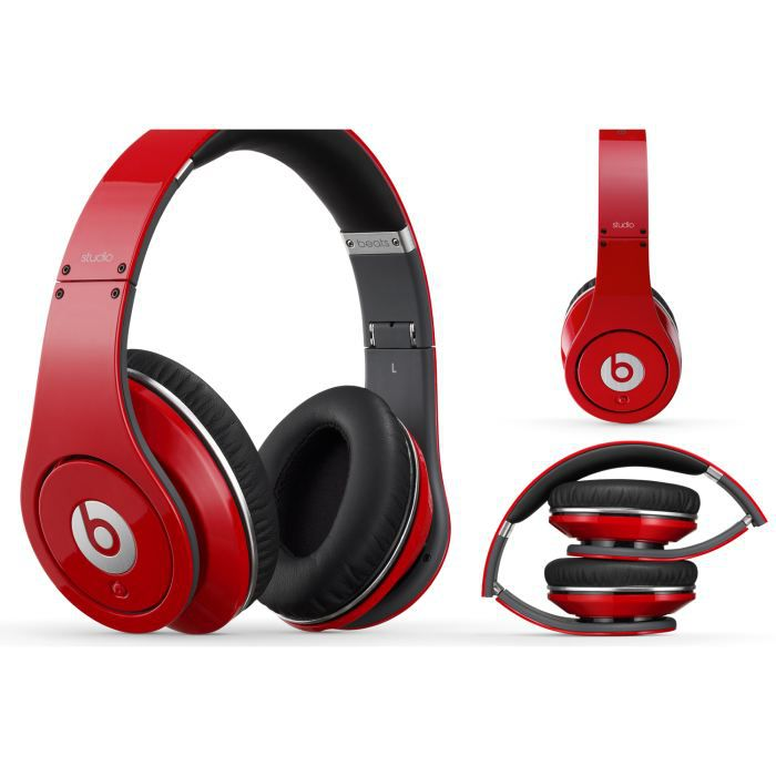 beats by dre 2013 authentic red studio. Black Bedroom Furniture Sets. Home Design Ideas