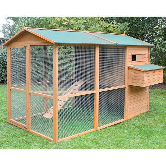 ferme de beaumont poulailler oslo 8 12 poules achat vente poulailler ferme de beaumont. Black Bedroom Furniture Sets. Home Design Ideas