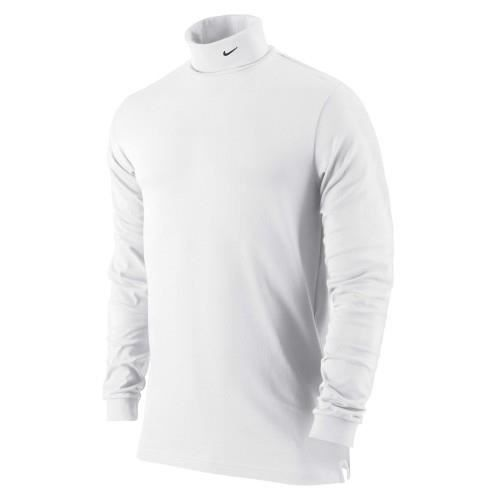 nike dri fit pull col roul homme blanc achat. Black Bedroom Furniture Sets. Home Design Ideas