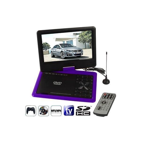 lecteur dvd portable 9 5 pouces violet lecteur dvd portable prix pas cher cdiscount. Black Bedroom Furniture Sets. Home Design Ideas