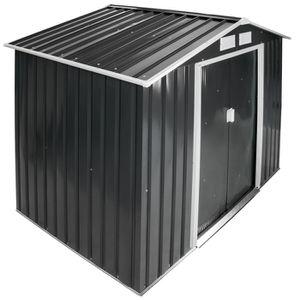abri en m tal achat vente abri en m tal pas cher cdiscount. Black Bedroom Furniture Sets. Home Design Ideas