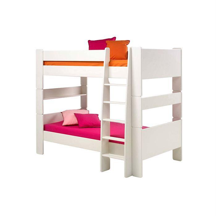lit enfant jumeau sup 4 achat vente lits superposes lit enfant jumeau sup 4 cdiscount. Black Bedroom Furniture Sets. Home Design Ideas