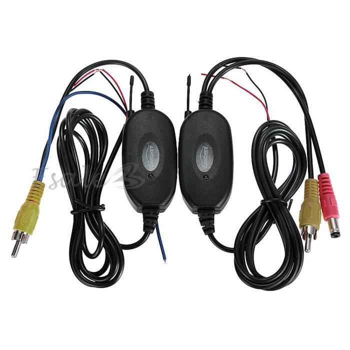 2 4ghz transmetteur r cepteur sans fil vid o pour cam ra. Black Bedroom Furniture Sets. Home Design Ideas
