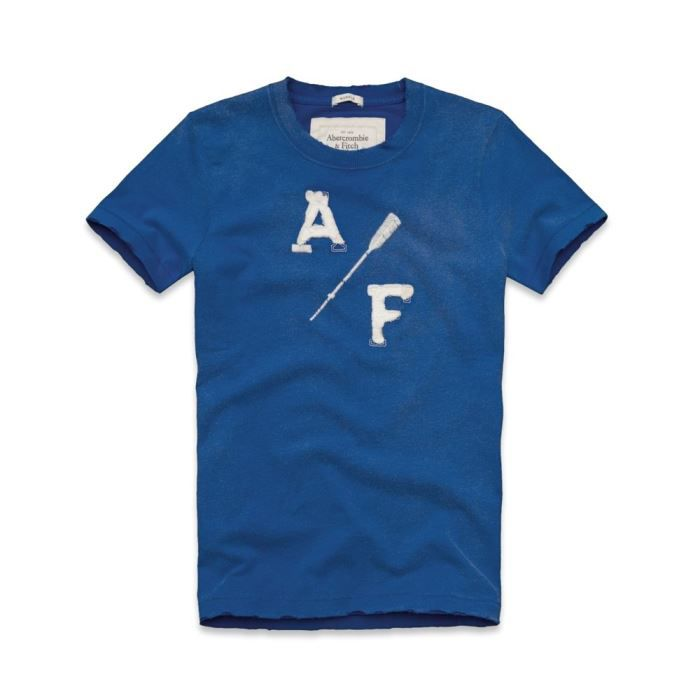 Tee shirt abercrombie and fitch bleu achat vente t for Abercrombie and fitch tee shirts