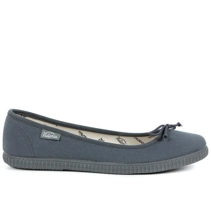 Chaussures bases Victoria  femme Anthracite Achat / Vente
