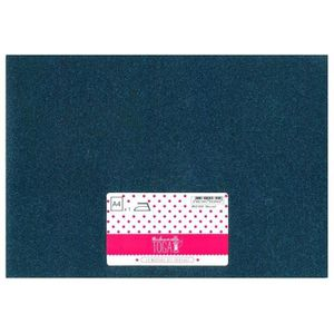 MLLE TOGA Tissu glitter thermocollant - A4 - bleu nuit