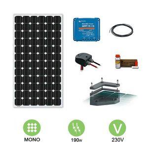 kit solaire autonome achat vente kit solaire autonome pas cher cdiscount. Black Bedroom Furniture Sets. Home Design Ideas