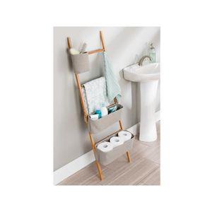 etagere murale en bois salle de bain achat vente etagere murale en bois salle de bain pas. Black Bedroom Furniture Sets. Home Design Ideas