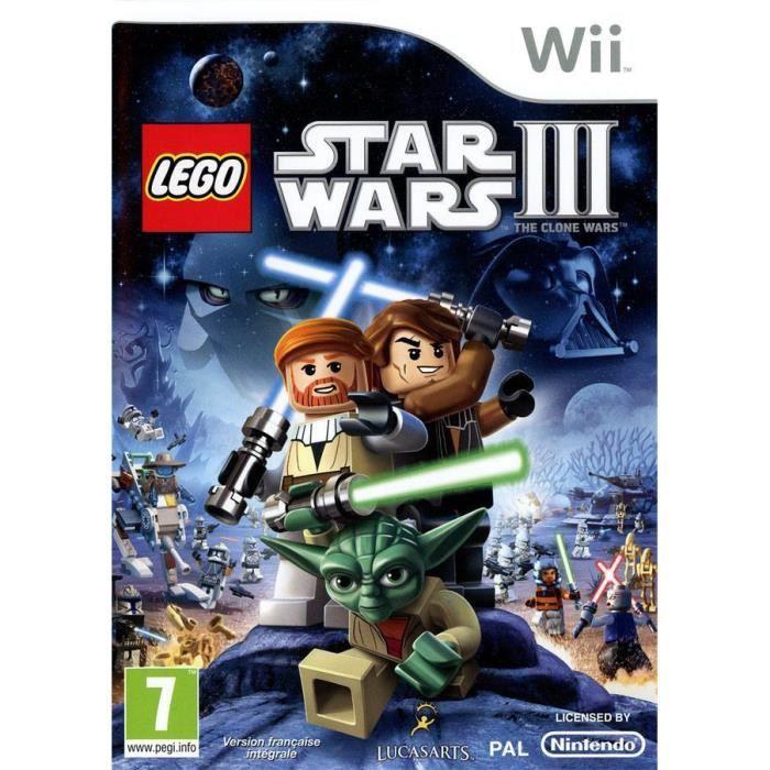 JEUX WII LEGO STAR WARS 3 / Jeu console Wii
