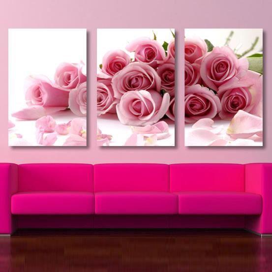 tableau moderne imprim sur toile multi panneaux 3 groupe. Black Bedroom Furniture Sets. Home Design Ideas