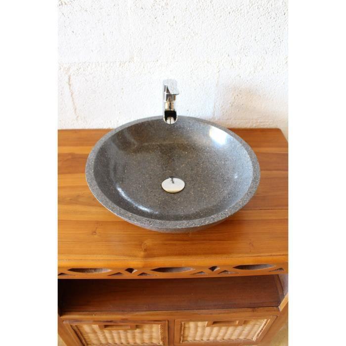 vasque ronde grise terrazzo vip achat vente lavabo vasque vasque ronde grise terrazzo. Black Bedroom Furniture Sets. Home Design Ideas