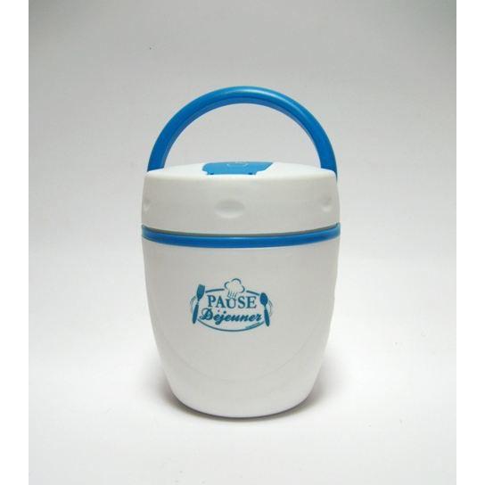 boite repas isotherme 1 litre couleur bleu achat vente lunch box bento boite repas. Black Bedroom Furniture Sets. Home Design Ideas