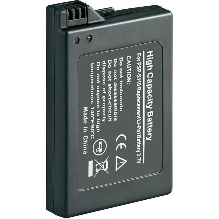 BATTERIE DE CONSOLE Batterie compatible Sony PSP Slim & Lite Li-Ion…