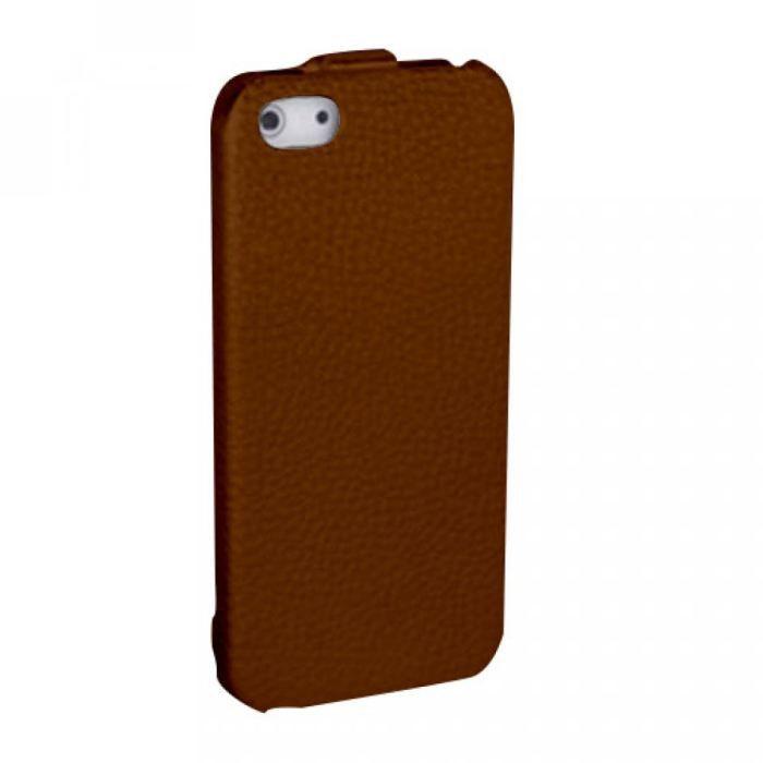 Etui clapet polyur thane marron iphone 5 achat coque bumper pas cher avi - Chape polyurethane projete prix ...