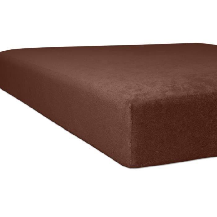 Kneer drap housse en tissu ponge 90 x 190 cm 100 x 200 for Drap drap housse