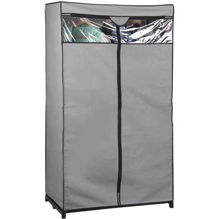 garde robe armoire en tissu achat vente armoire de chambre garde robe armoire en tissu. Black Bedroom Furniture Sets. Home Design Ideas