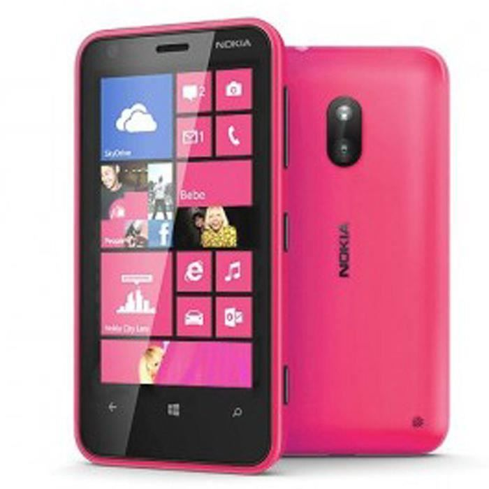 nokia lumia 620 rose reconditionne a neuf achat. Black Bedroom Furniture Sets. Home Design Ideas