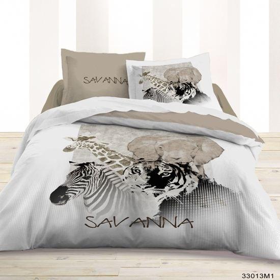 Parure 3 pi ces savanna 240x220cm achat vente parure de couette cdiscount - Parure de lit discount ...
