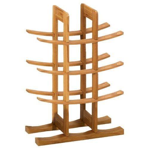 zeller 13580 range bouteilles bambou 29 x 16 x achat vente range bouteille zeller 13580. Black Bedroom Furniture Sets. Home Design Ideas