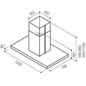 hotte ilot elica achat vente hotte ilot elica pas cher. Black Bedroom Furniture Sets. Home Design Ideas