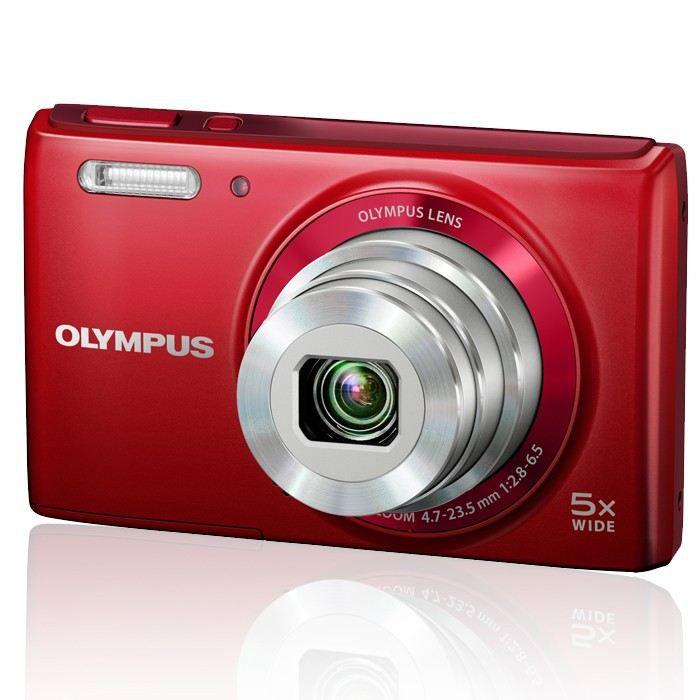 Olympus vg 180 rouge pas cher achat vente appareil for Appareil photo ecran 180