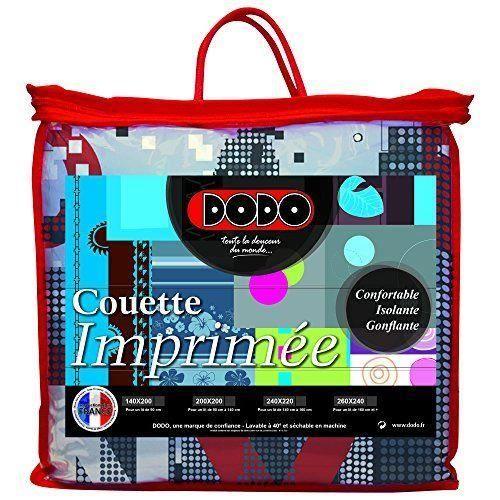 Dodo 27158 140 200 couette imprim e rendez vous 200 x 140 cm achat vente - Couette dodo imprimee ...