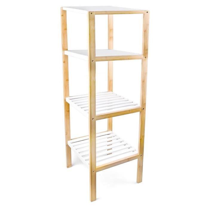 Tag re bambou 4 niveaux achat vente petit meuble - Petit meuble etagere ...