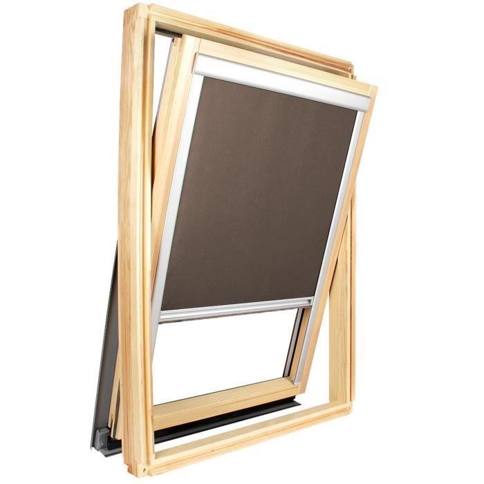 store occultant pour fen tre de toit compatible achat vente store de fen tre tissu toile. Black Bedroom Furniture Sets. Home Design Ideas