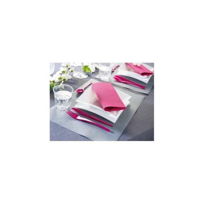 couverts de table framboise fourchettes couteaux cuilleres. Black Bedroom Furniture Sets. Home Design Ideas