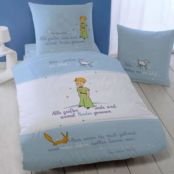 Superbe parure de lit housse de couette le petit prince 140 x 200 cm 100 coton achat - Housse de couette le petit prince ...