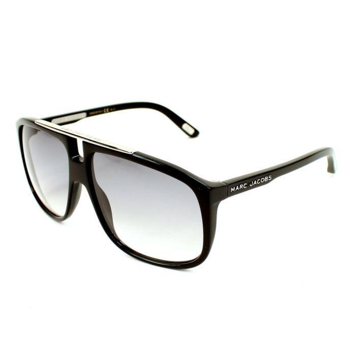 lunettes de soleil marc jacobs mj252 s noir ve noir gris achat vente lunettes de soleil. Black Bedroom Furniture Sets. Home Design Ideas