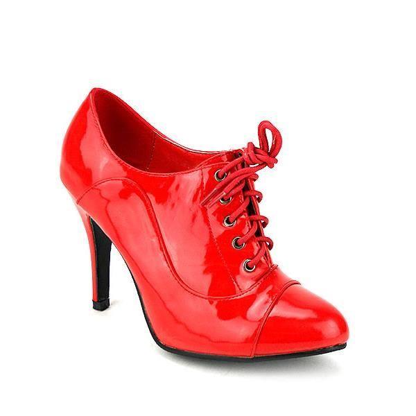 bottes rouges femme chaussure2. Black Bedroom Furniture Sets. Home Design Ideas